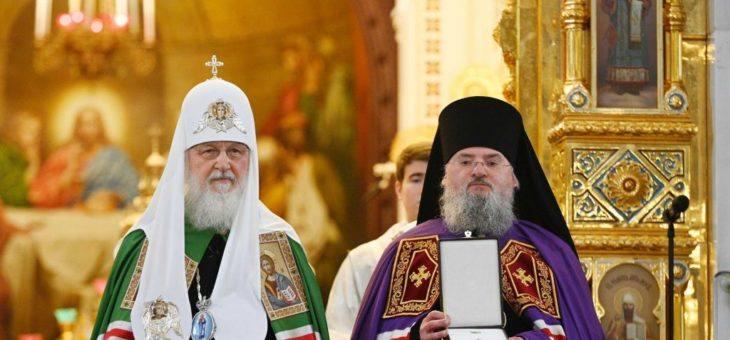Поздравляем Преосвященнейшего Никиту, епископа Козельского и Людиновского!