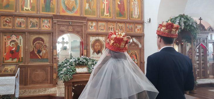 Венчальная Литургия в престольный праздник Собор Иоанна Предтечи.