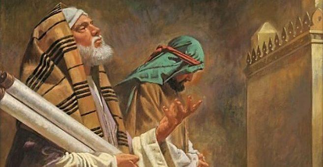 Подготовительный недели перед Великим постом. Неделя о мытаре и фарисее.