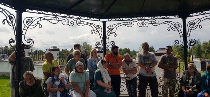 Преображение села Губино в праздничный день Преображения Господня!